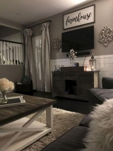 Beautiful Farmhouse Living Room Makeover Decor Ideas To Try Asap 19