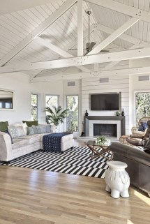 Beautiful Farmhouse Living Room Makeover Decor Ideas To Try Asap 39