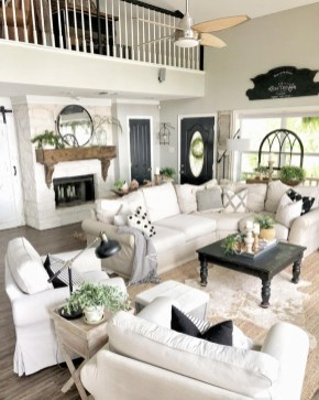 Comfy Farmhouse Living Room Decor Ideas That You Need To See 08