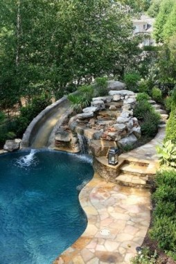 Comfy Pool Decoration Ideas For Your Backyard To Have 09