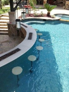 Comfy Pool Decoration Ideas For Your Backyard To Have 29