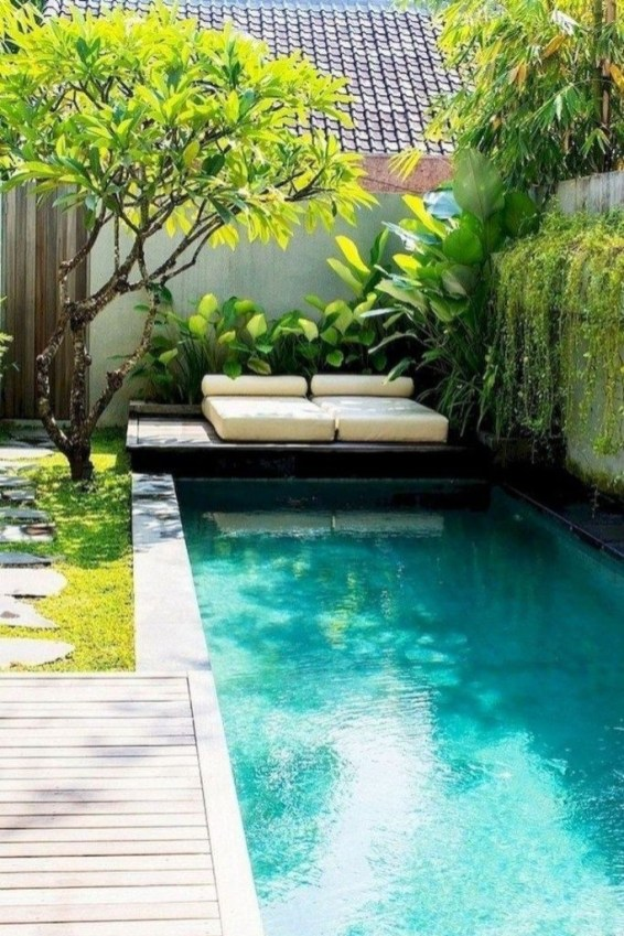 Comfy Pool Decoration Ideas For Your Backyard To Have 38