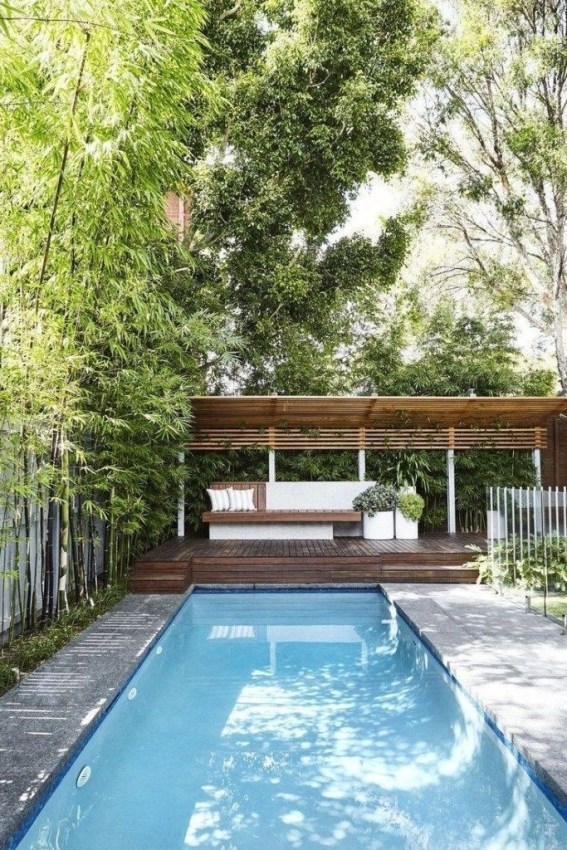 Comfy Pool Decoration Ideas For Your Backyard To Have 40