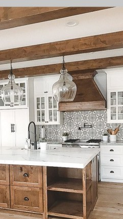 Crative Farmhouse Kitchen Design Ideas For Fun Cooking To Try 17