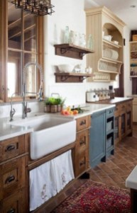 Crative Farmhouse Kitchen Design Ideas For Fun Cooking To Try 22