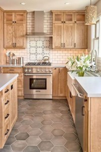 Crative Farmhouse Kitchen Design Ideas For Fun Cooking To Try 23
