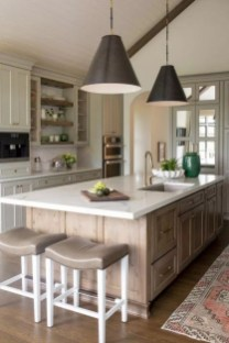Crative Farmhouse Kitchen Design Ideas For Fun Cooking To Try 29