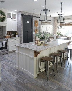 Crative Farmhouse Kitchen Design Ideas For Fun Cooking To Try 30