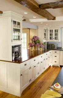 Crative Farmhouse Kitchen Design Ideas For Fun Cooking To Try 47