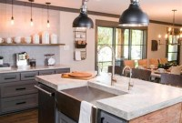 Crative Farmhouse Kitchen Design Ideas For Fun Cooking To Try 49