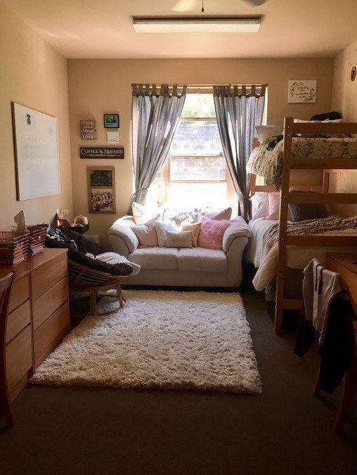 Elegant College Dorm Room Design Ideas That Suitable For You 07
