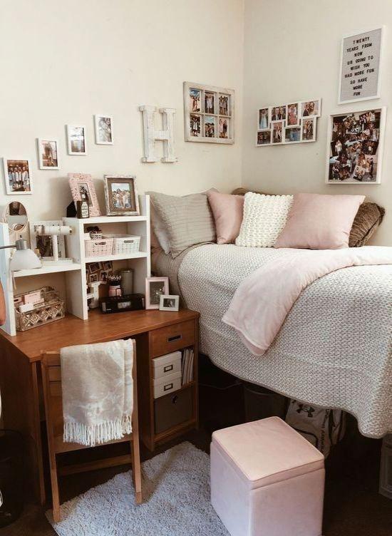 Elegant College Dorm Room Design Ideas That Suitable For You 17
