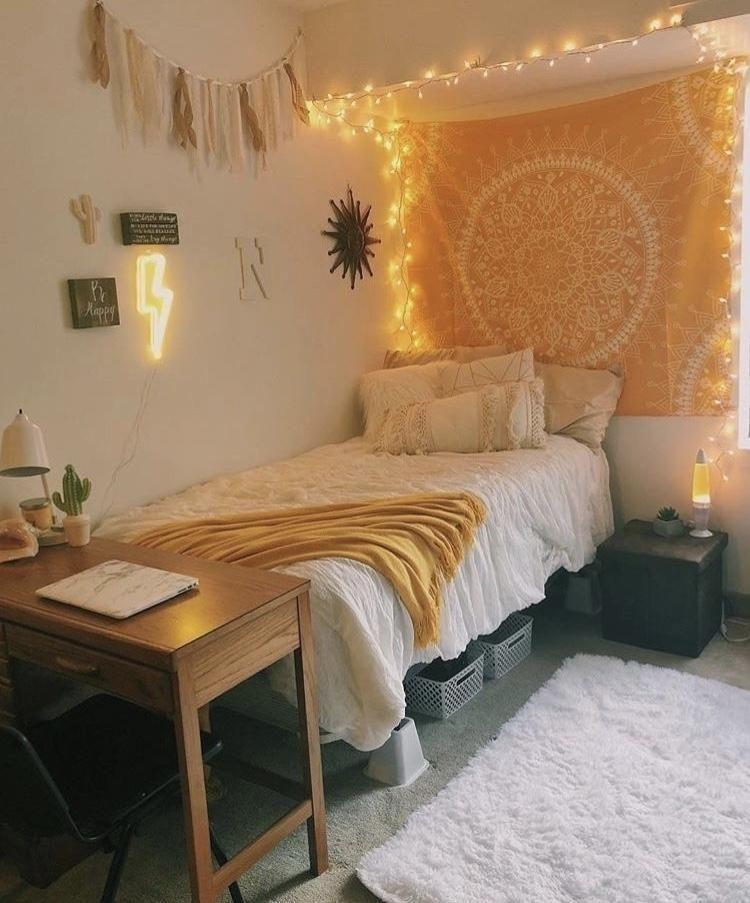 Elegant College Dorm Room Design Ideas That Suitable For You 32