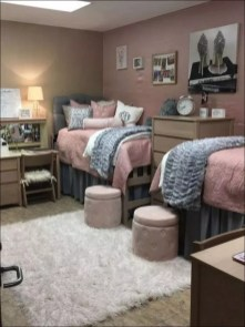 Elegant College Dorm Room Design Ideas That Suitable For You 49