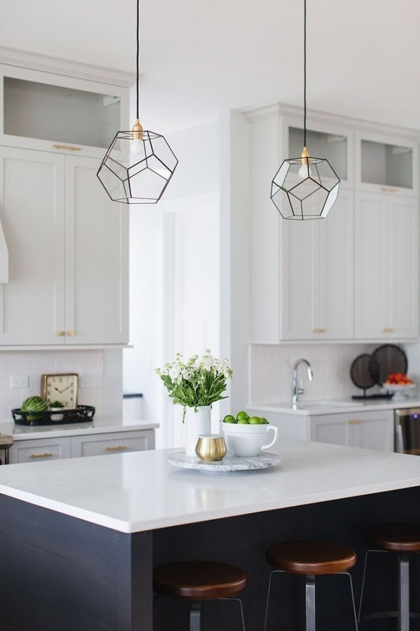 Enchanting Lighting Design Ideas For Modern Kitchen To Try Asap 40
