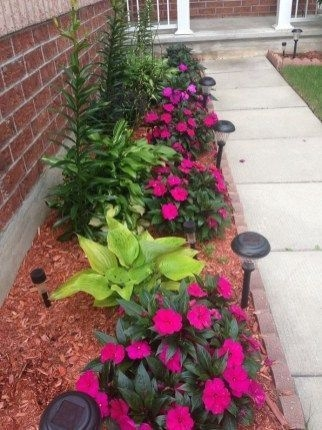 Pretty Lawn Edging Design Ideas For Your Yard To Try 08