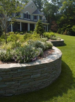 Pretty Lawn Edging Design Ideas For Your Yard To Try 35