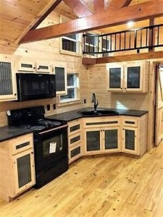 Relaxing Tiny House Makeovers Design Ideas With Farmhouse Style 14