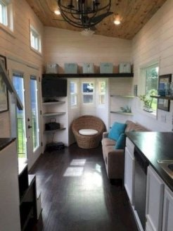 Relaxing Tiny House Makeovers Design Ideas With Farmhouse Style 49