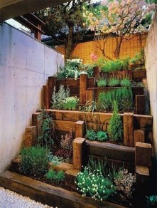 Rustic Small Backyard Design Ideas With Vertical Garden To Try Asap 12