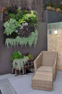 Rustic Small Backyard Design Ideas With Vertical Garden To Try Asap 24