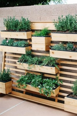 Rustic Small Backyard Design Ideas With Vertical Garden To Try Asap 27
