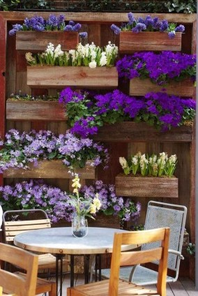 Rustic Small Backyard Design Ideas With Vertical Garden To Try Asap 36