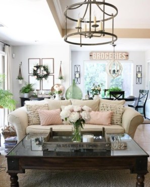 Splendid Living Room Décor Ideas For Spring To Try Soon 27