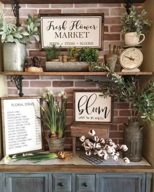 Superb Spring Home Decor Ideas With Farmhouse Style To Try Asap 06