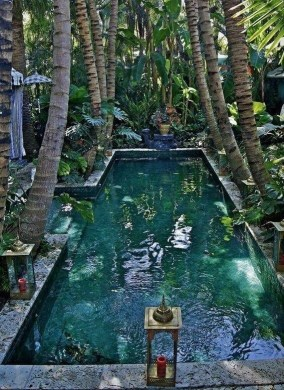 Surprising Tropical Pool Landscaping Design Ideas To Try Soon 06