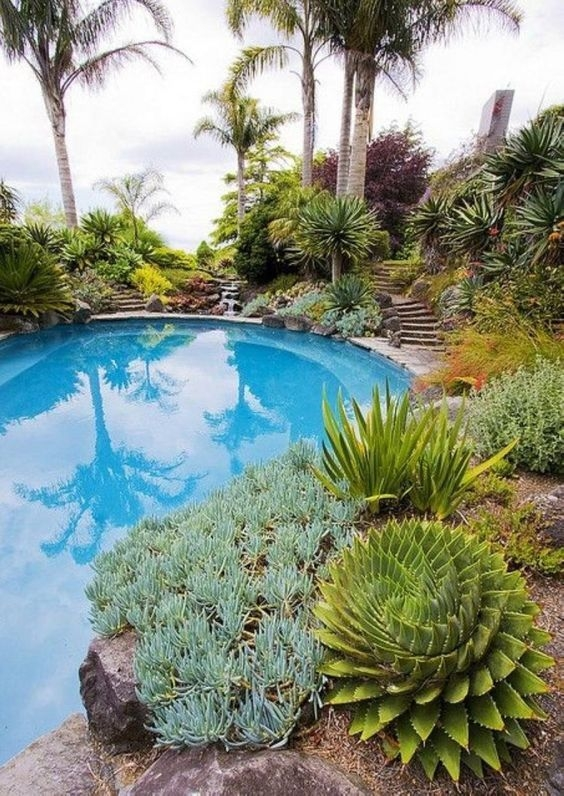 Surprising Tropical Pool Landscaping Design Ideas To Try Soon 20