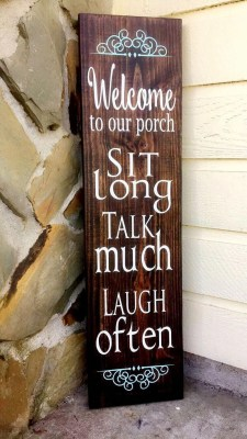 Admiring Wood Signs Design Ideas To Decor Your Home 08