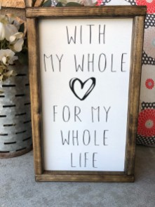 Admiring Wood Signs Design Ideas To Decor Your Home 10