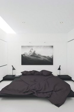 Best Bedroom Design Ideas With Black And White Color Schemes 38