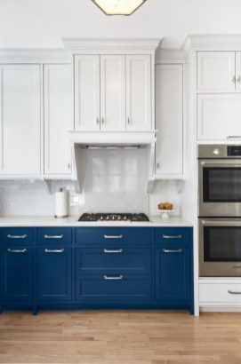 Classy Blue Kitchen Cabinets Design Ideas For Kitchen Looks More Incredible 18