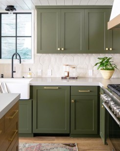 Classy Blue Kitchen Cabinets Design Ideas For Kitchen Looks More Incredible 22
