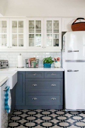 Classy Blue Kitchen Cabinets Design Ideas For Kitchen Looks More Incredible 35