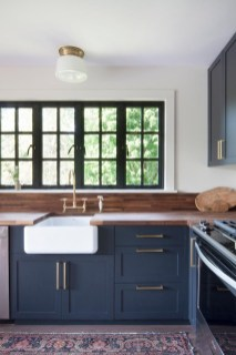 Classy Blue Kitchen Cabinets Design Ideas For Kitchen Looks More Incredible 38
