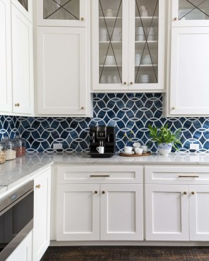 Classy Blue Kitchen Cabinets Design Ideas For Kitchen Looks More Incredible 42