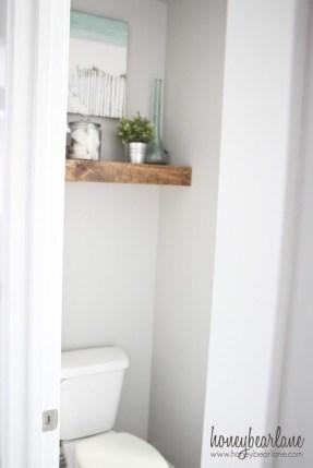 Comfy Corner Floating Shelves Design Ideas To Beautify Your Room Corner 43