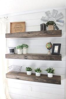 Comfy Corner Floating Shelves Design Ideas To Beautify Your Room Corner 50