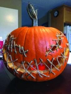Cozy Pumpkin Carving Design Ideas You Can Do Yourself 48