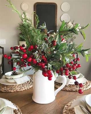 Creative Christmas Centerpieces Ideas That You Must See 36