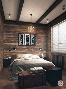 Creative Industrial Bedroom Design Ideas For Unique Bedroom 01