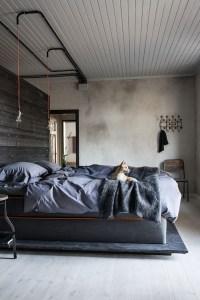 Creative Industrial Bedroom Design Ideas For Unique Bedroom 13