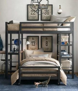 Creative Industrial Bedroom Design Ideas For Unique Bedroom 25