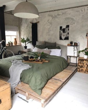 Creative Industrial Bedroom Design Ideas For Unique Bedroom 27