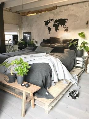 Creative Industrial Bedroom Design Ideas For Unique Bedroom 35