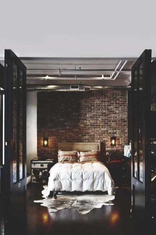 Creative Industrial Bedroom Design Ideas For Unique Bedroom 37