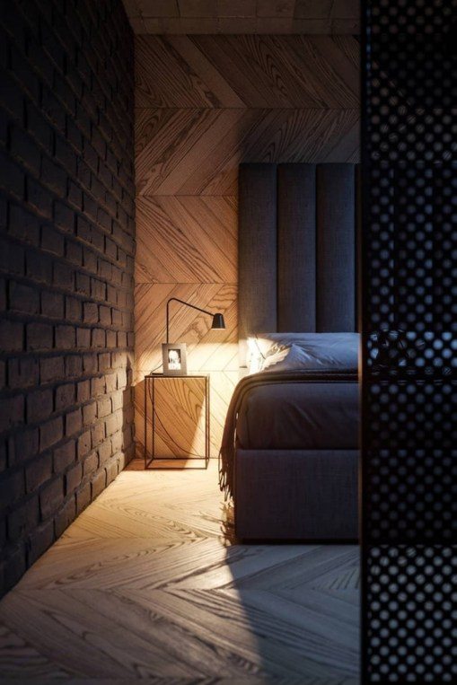Creative Industrial Bedroom Design Ideas For Unique Bedroom 39